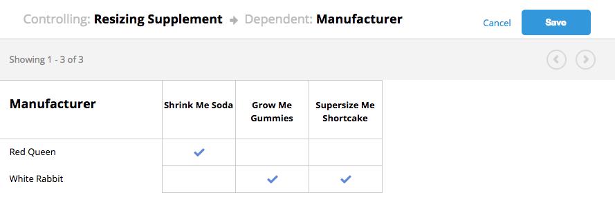 associate dependencies