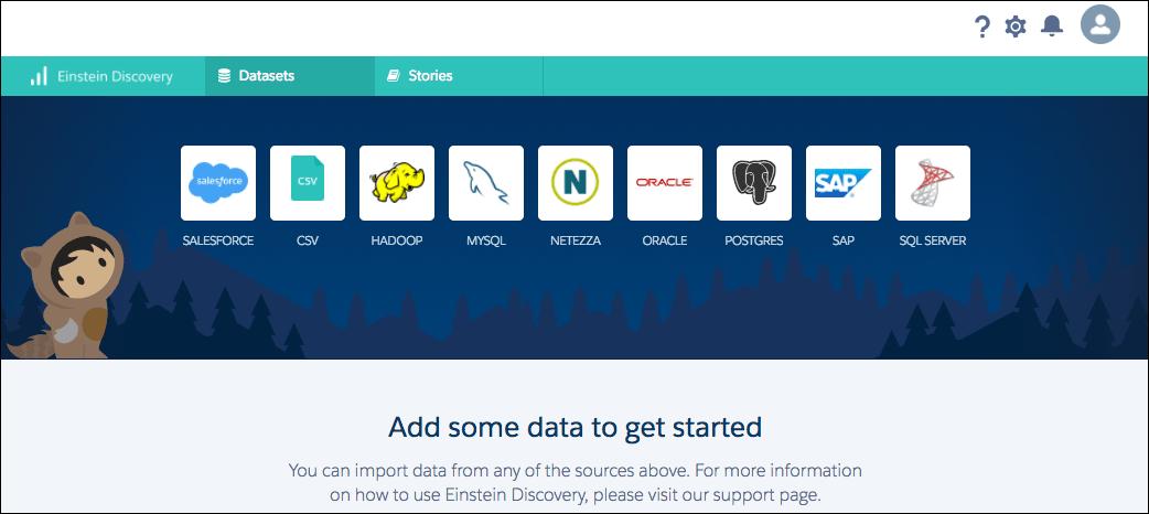 Upload a dataset