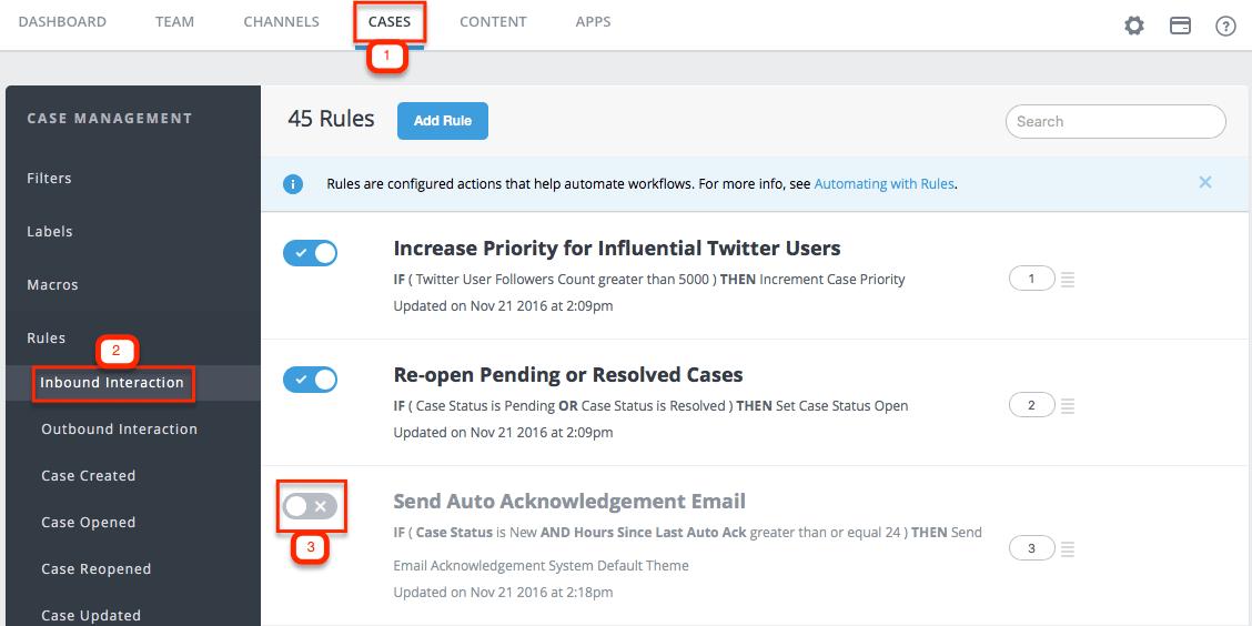 Send Auto Acknowledgement Email