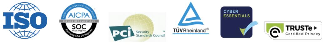Logos von Salesforce-Zertifizierungen
