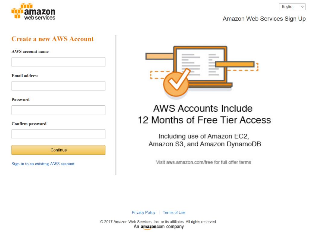 how to delete amazon web services account