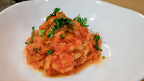 松屋で人気の「カチャトーラ」を本場イタリアのレシピで作る
