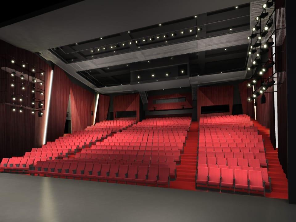 劇場パース