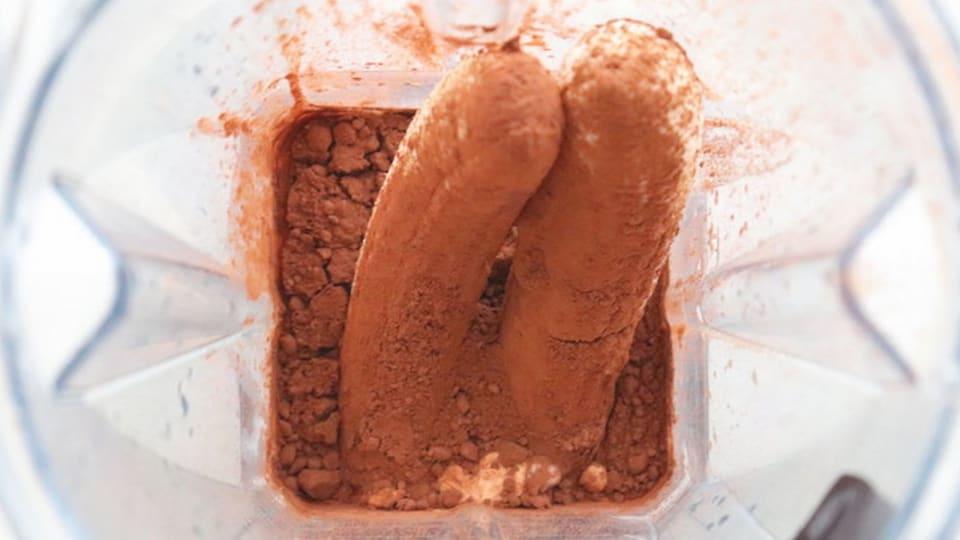 チョコバナナアイス