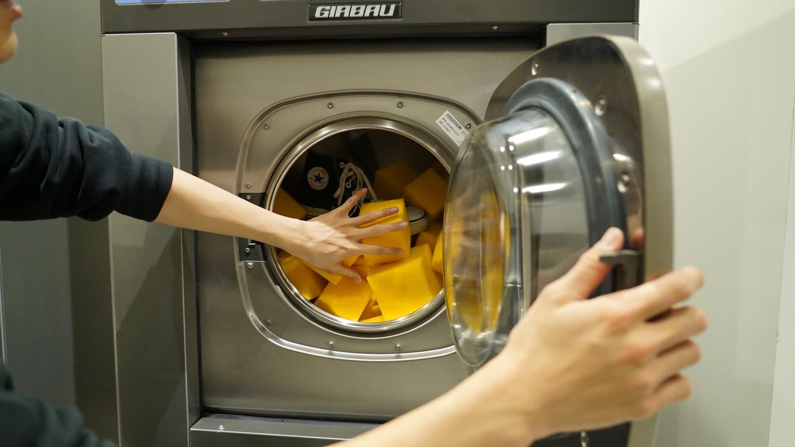 スニーカー洗濯