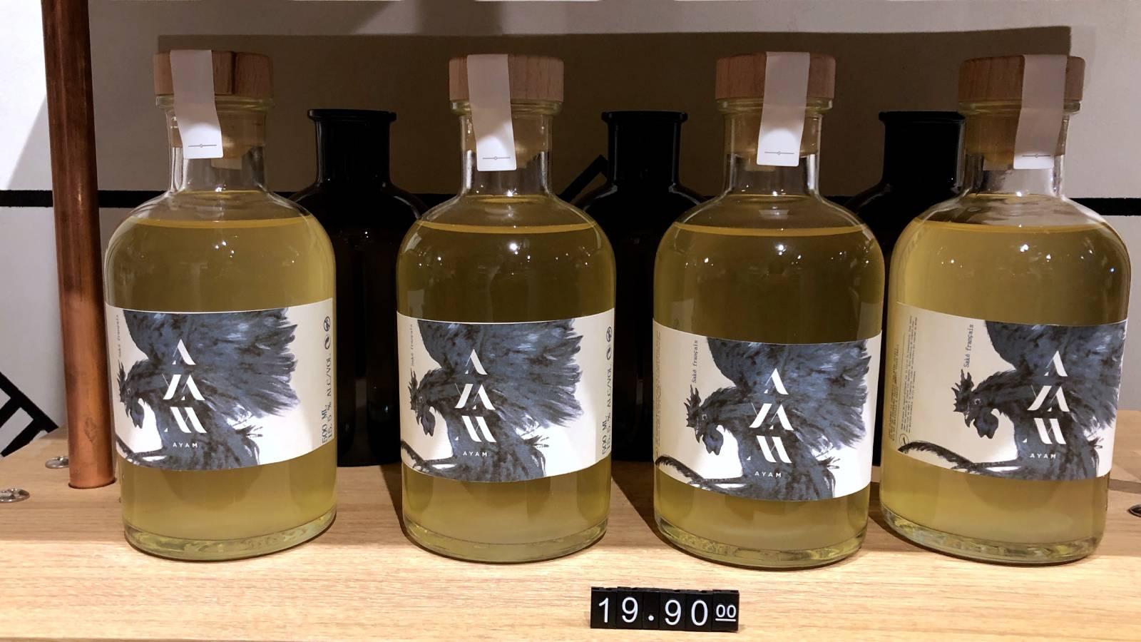 パリで造る「日本酒」