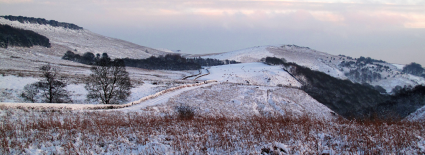 Stanage Wintery Edge