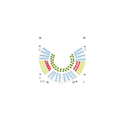 Circus seating layout