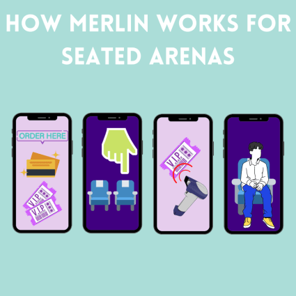 How merlin works for seated arenas