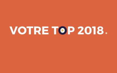 VOTRE TOP 2018 🌟