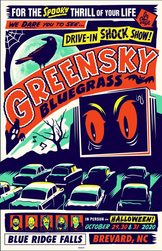 Greensky Bluegrass Halloween 2020