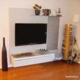 Mueble  blanco para TV