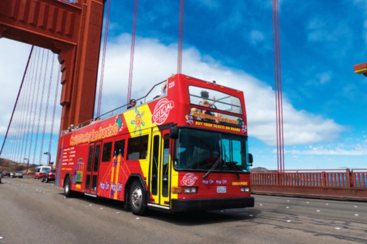 San Francisco Hop On Hop Off Bus Tours. Official© city tours.