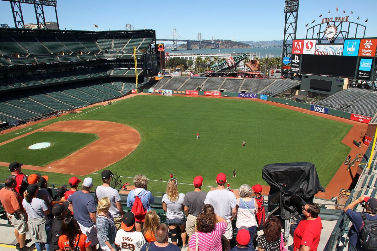 At T Park Tour See San Francisco Giants Stadium