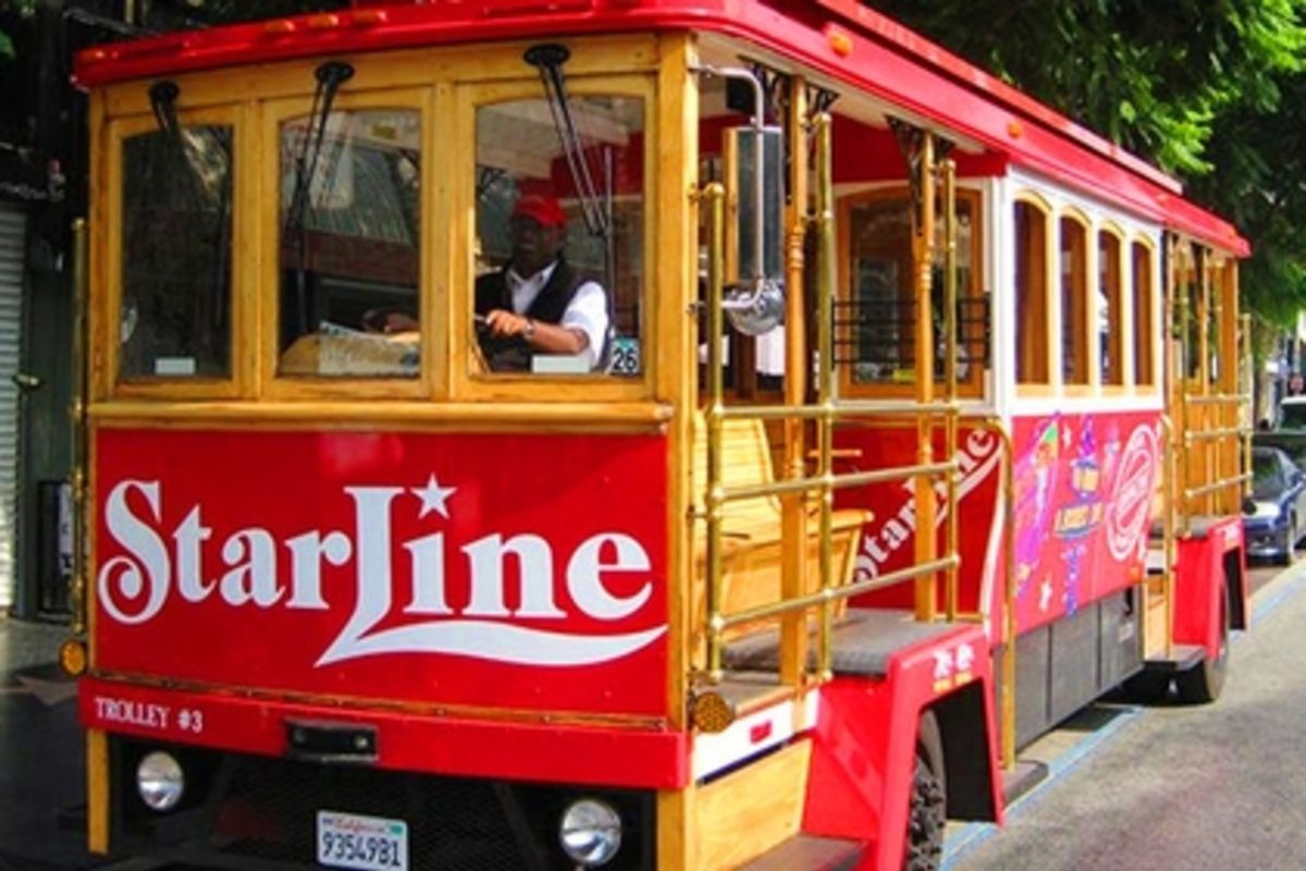 trolley tour hollywood fun trolley starline tours