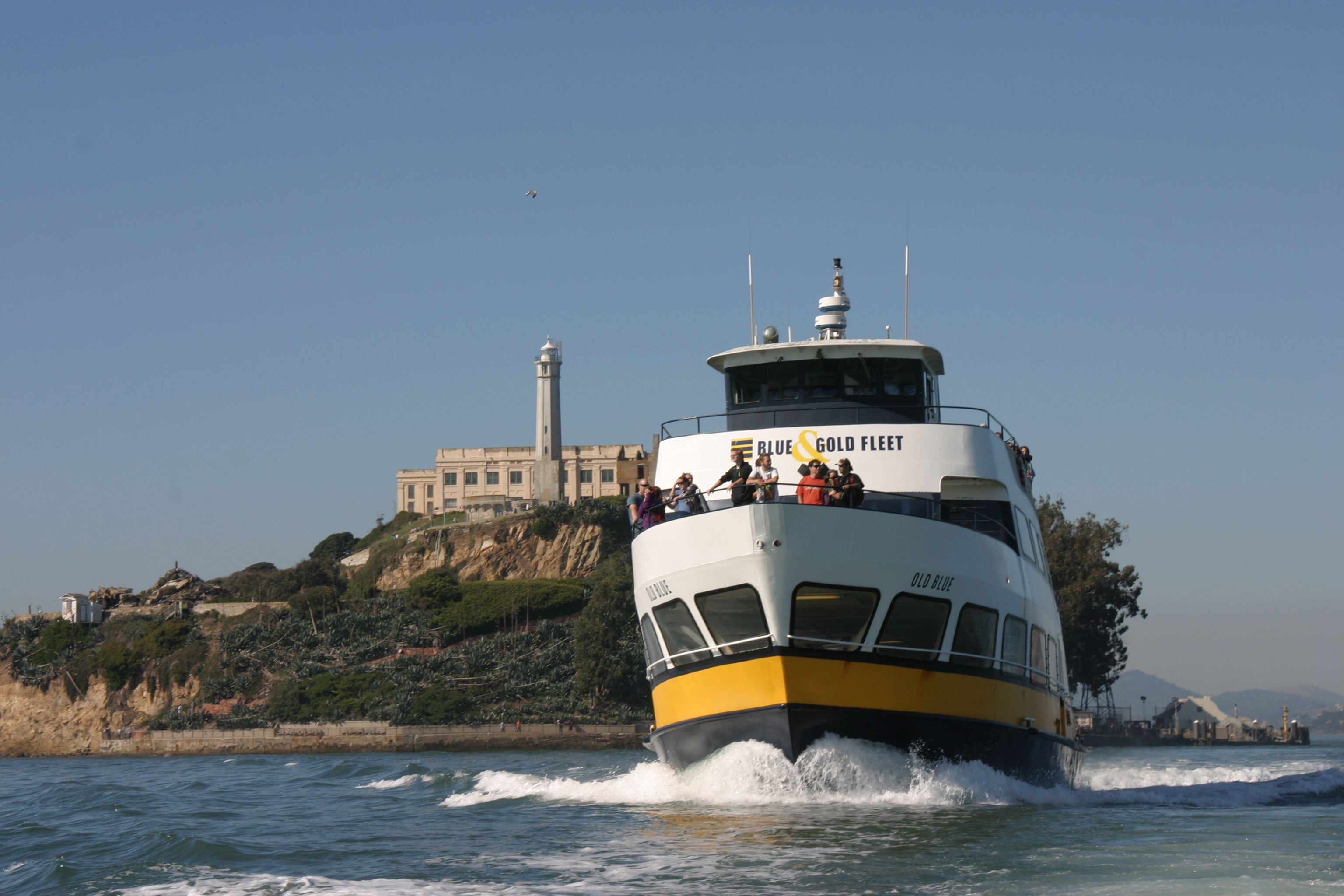 Alcatraz Prison Island Tour San Francisco Hop On Hop Off