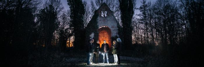mental asylum graveyard tour