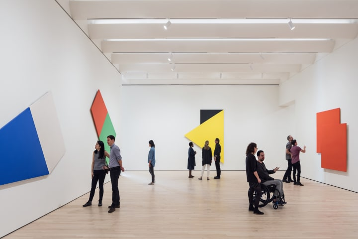 Learn about modern art at the SFMOMA