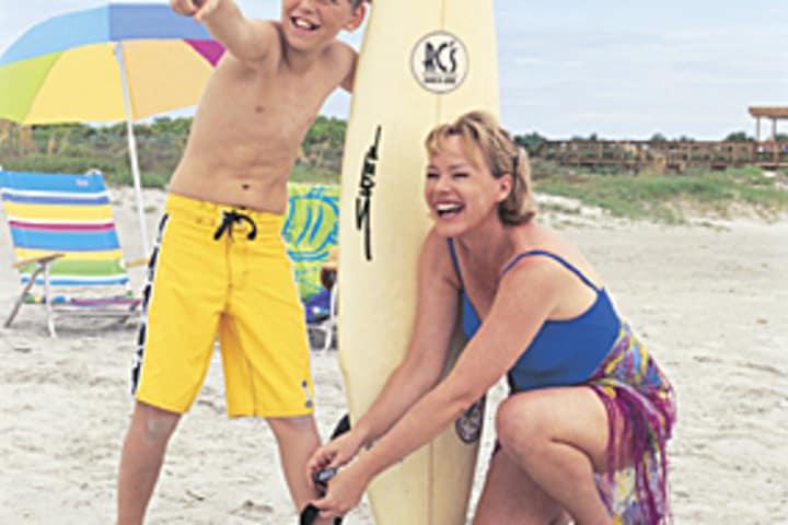 Mother   son at beach 4493 cstaxx