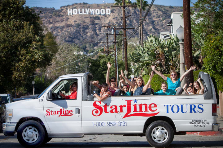 Starline Tours of Hollywood - Hollywood Blvd Ste , Los Angeles, California - Rated based on Reviews