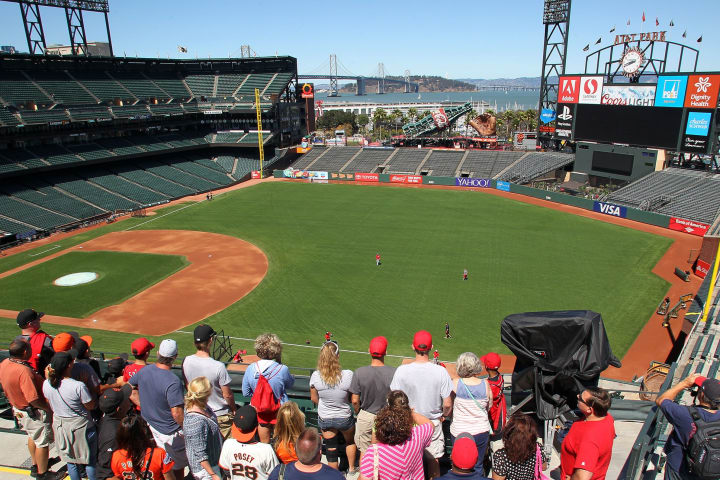 AT&T Park tour - See in San Francisco Giants Stadium