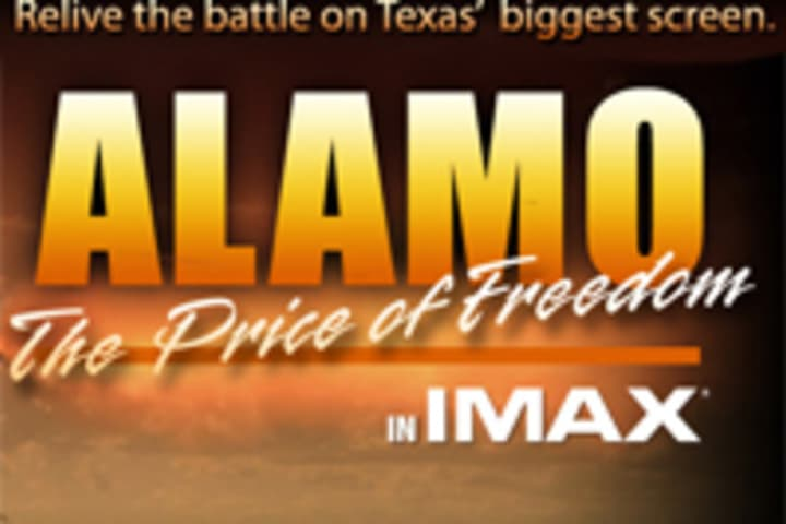 Alamo The Price Of Freedom at the IMAX