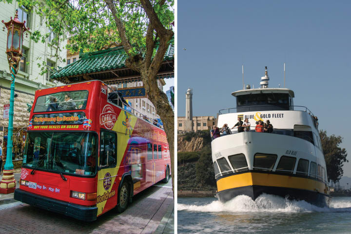 Bus and Boat Adventure (1 Day Pass)