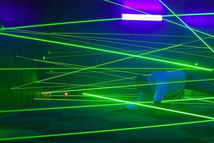 7D DarkRide & Laser Maze Combo