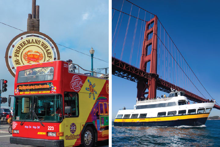 Bus and Boat Adventure (Downtown Tour)