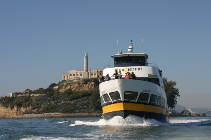Escape from the rock - Boat tour of San Francisco Bay