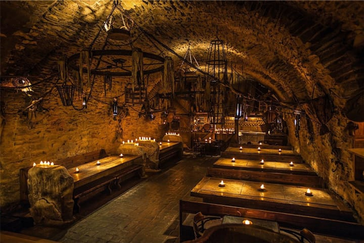 Experience Prague through the medieval ages. Enjoy medieval live shows whilst feasting on a delicious banquet
