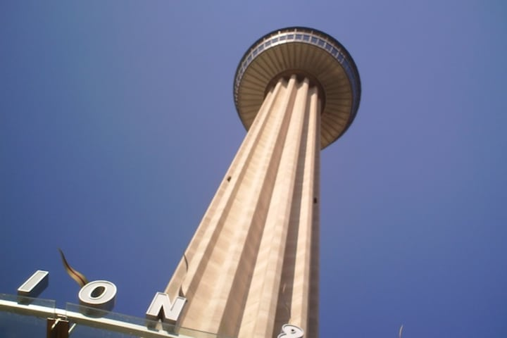 Bus + Tower of the Americas