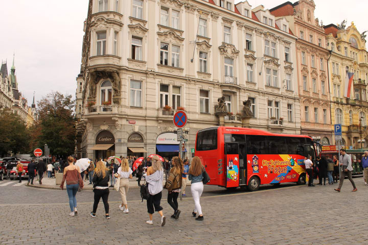 Bus & Prague Castle Tour & Jewish Quarter Tour