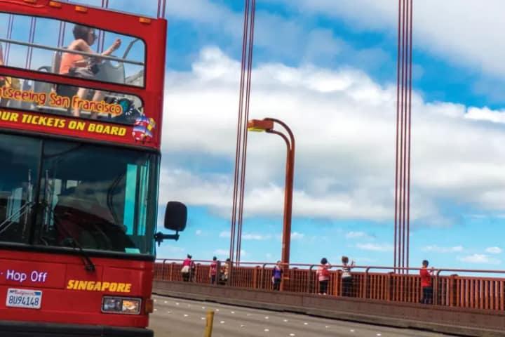 Hop On Hop Off Double-Decker Bus Tour