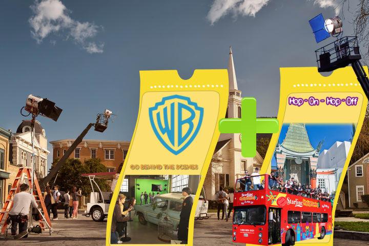 Hop-On Hop-Off - 24 Hour & Warner Bros. Studios