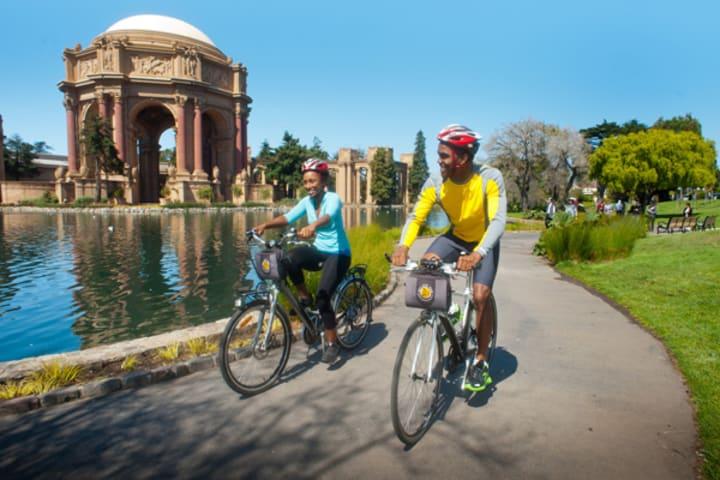 San Francisco Bike Rental And Self Guided Tour
