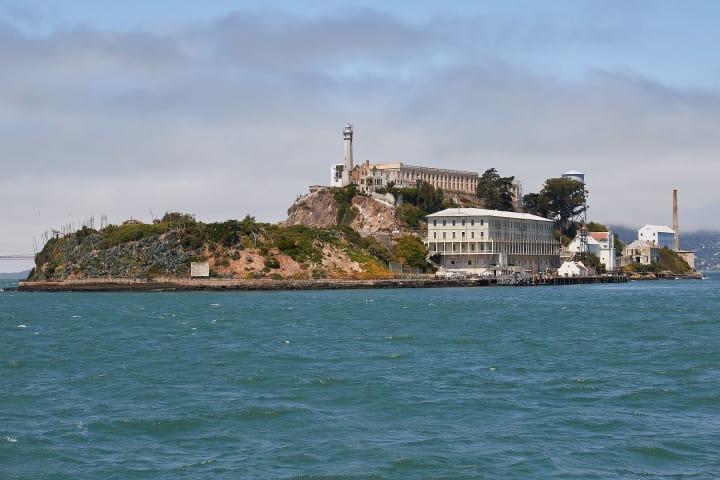 The famous Alcatraz Island!