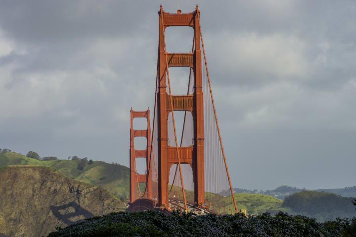 Cross The Golden Gate Bridge