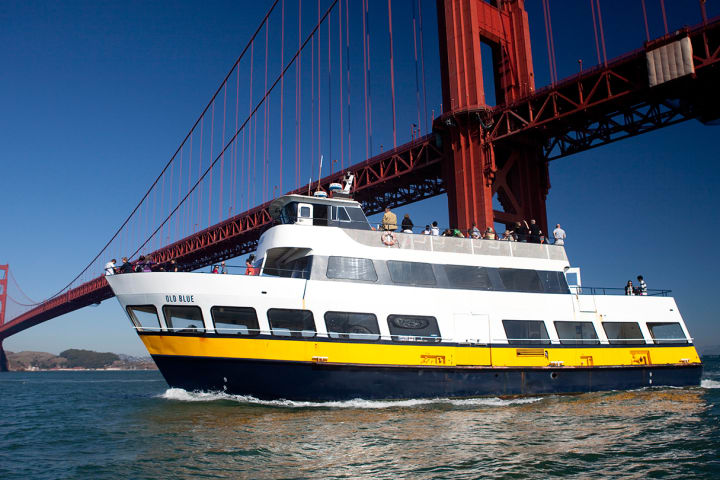 Sail under the Golden Gate Bridge