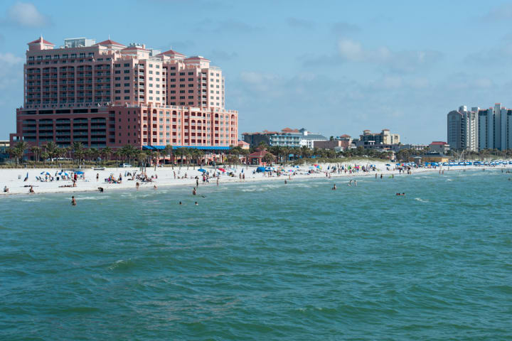 Clearwater Beach With Lunch