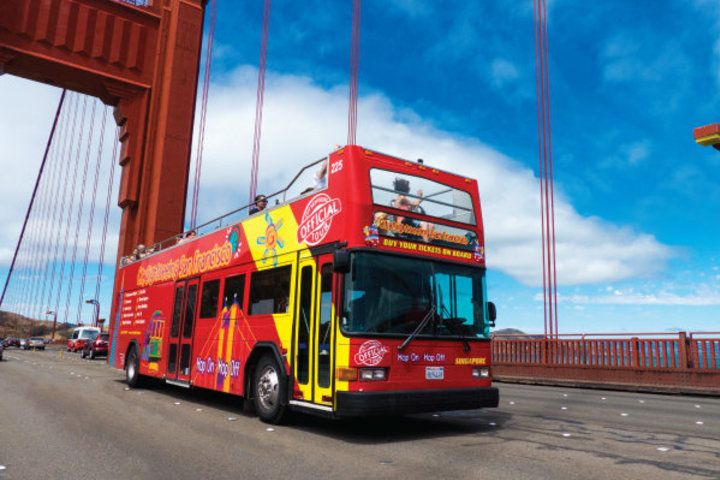 San Francisco Bus Tours Official C Hop On Hop Off Bus Tour