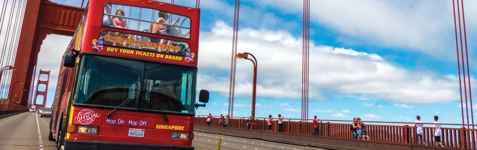Official City Sightseeing tour of San Francisco. Double Decker City Bus Tours Hop On Hop Off, Alcatraz, Wine Country and more.