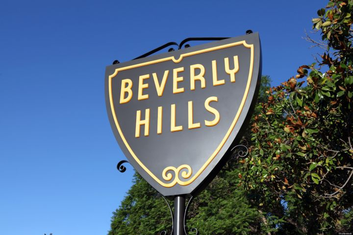 Beverly hills icon sign yl3c9u