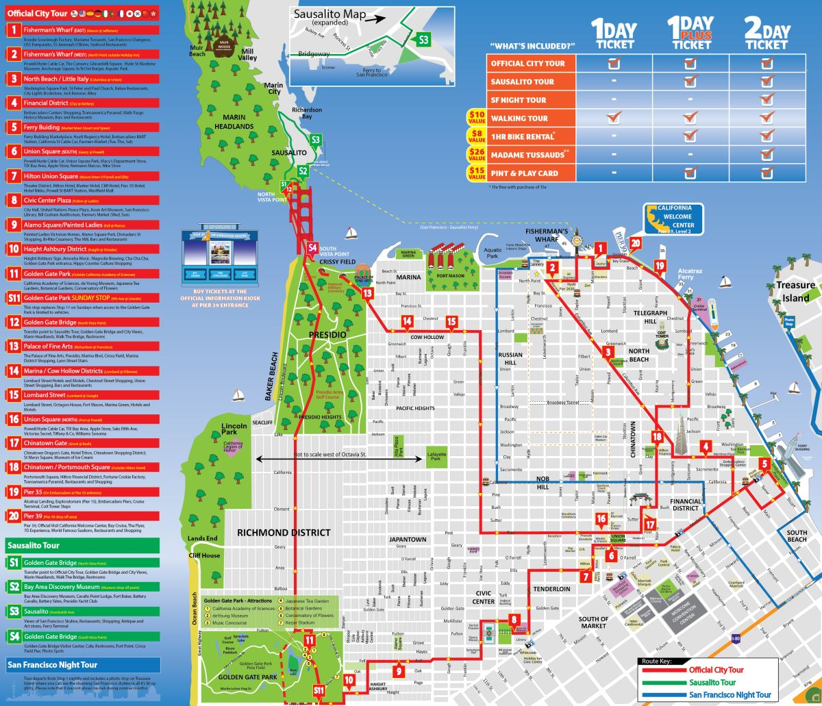 San Francisco Tour Map on northern ca map, california map, las vegas map, tokyo map, san diego, sausalito map, new orleans map, boston map, los angeles map, golden gate park map, united states map, london map, berkeley map, usa map, bay area map, chicago map, omaha map, detroit map, sydney australia map, dallas map, new york map, salt lake city map, kansas city map,