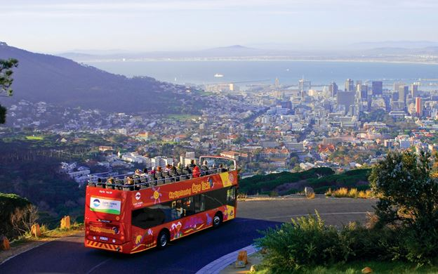 City Sightseeing: Sunset Bus Tour