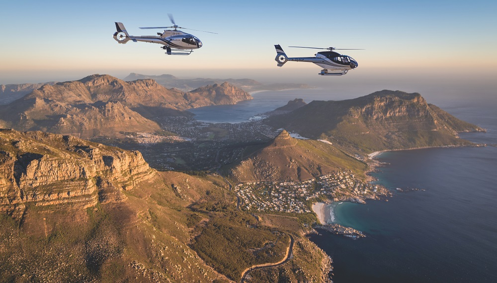 Cape Town Helicopters: Hopper flight & video package