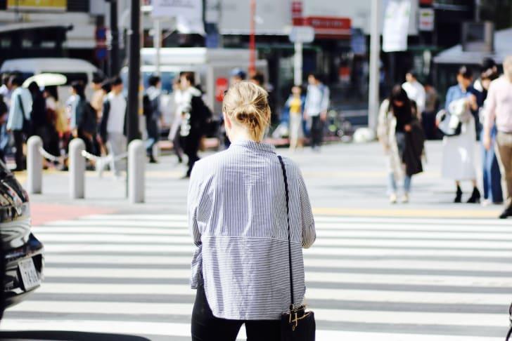 street crosswalk