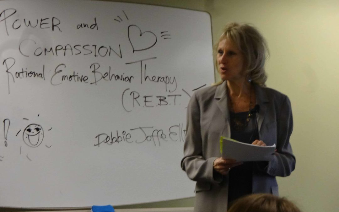 Dr Joffe Ellis Teaches 2 Day workshop at Adler University in Minneapolis.