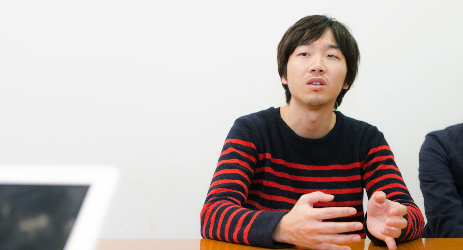 社内ユニット「SCHOOL」チーフプロデューサー 大野 鉄平さん