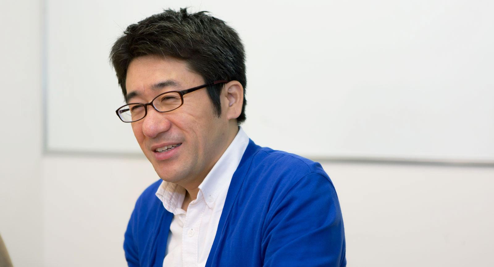 インタラクティブソリューション本部 本部長/チーフプロデューサー 香田 史生さん